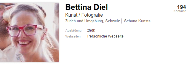 Zum LinkedIn-Account von Bettina Diel
